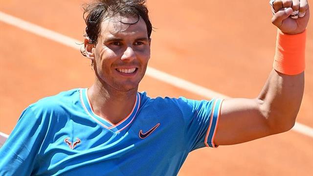 Nadal-Tsitsipas y Djokovic-Schwartzman, semifinales en Roma