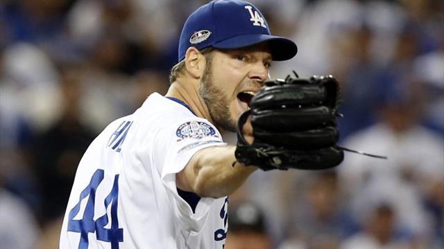 6-0. Hill conduce a los Dodgers, que blanquean a los Rojos