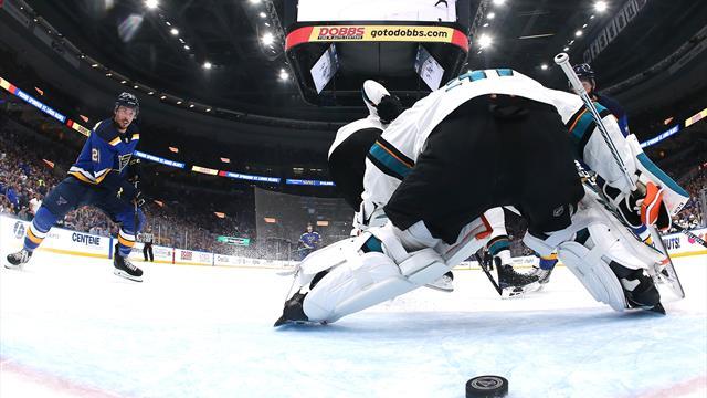 NHL-Play-offs: St. Louis Blues gleichen Halbfinalserie aus