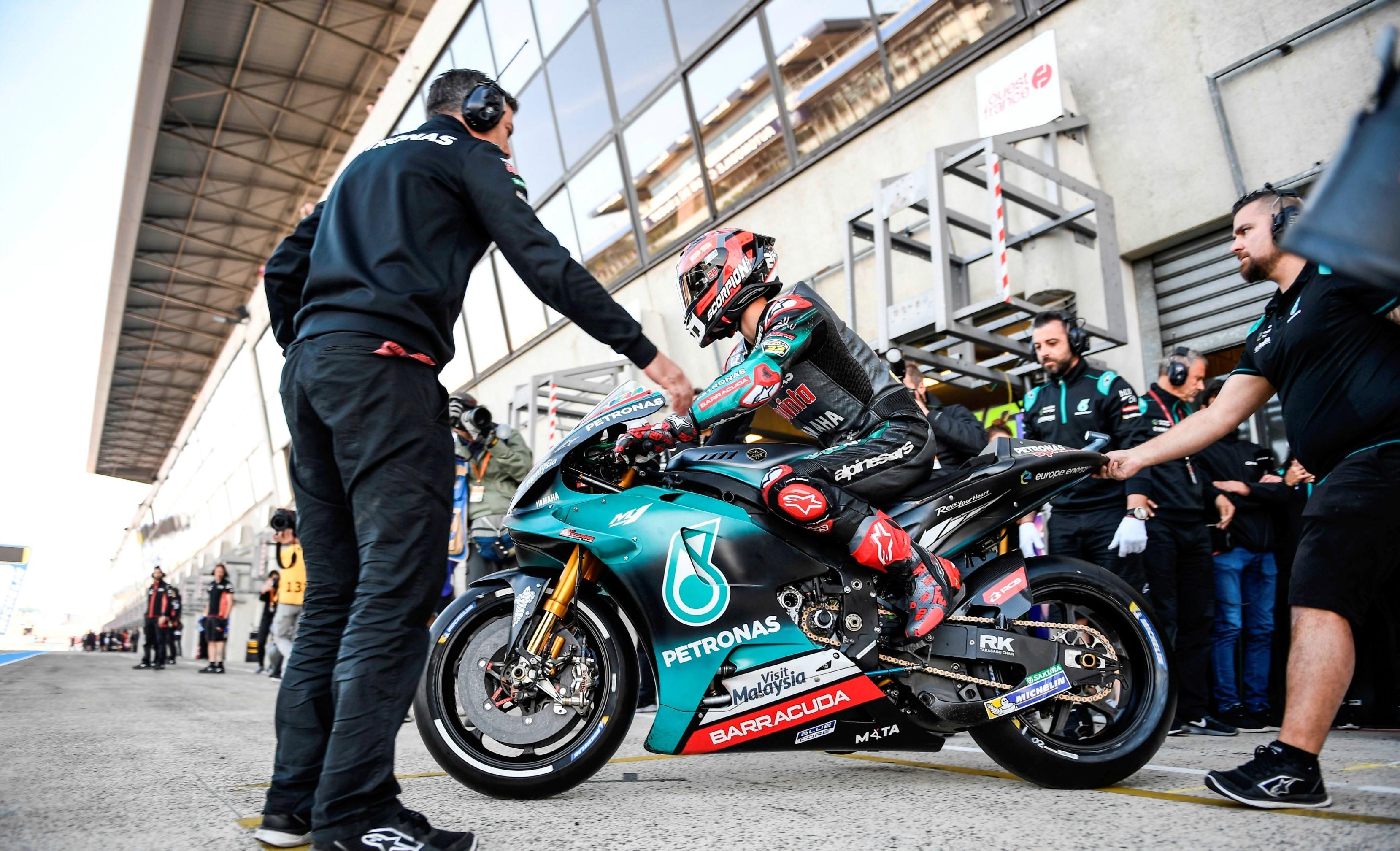Fabio Quartararo (Yamaha SRT) au Grand Prix de France 2019