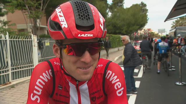 Jan Bakelants voelt zich goed na een week Giro
