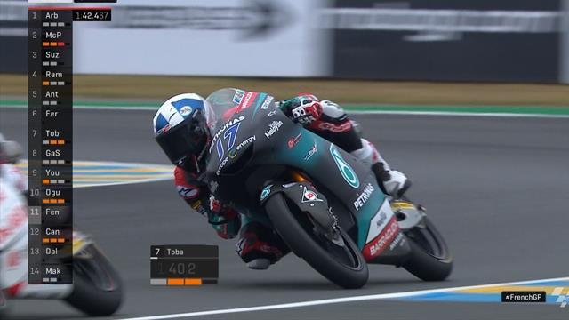John McPhee pakt pole-position in de Moto3