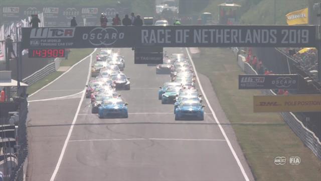 Bjork wins race one at WTCR Zandvoort
