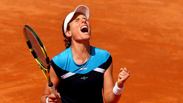 Pliskova wins biggest clay title of career at Italian Open