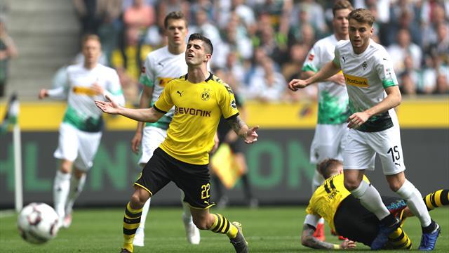 Borussia Mönchengladbach - Borussia Dortmund jetzt live im TV und im Livestream
