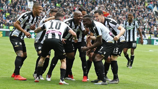 Le pagelle di Udinese-SPAL 3-2: Okaka e De Paul sono devastanti