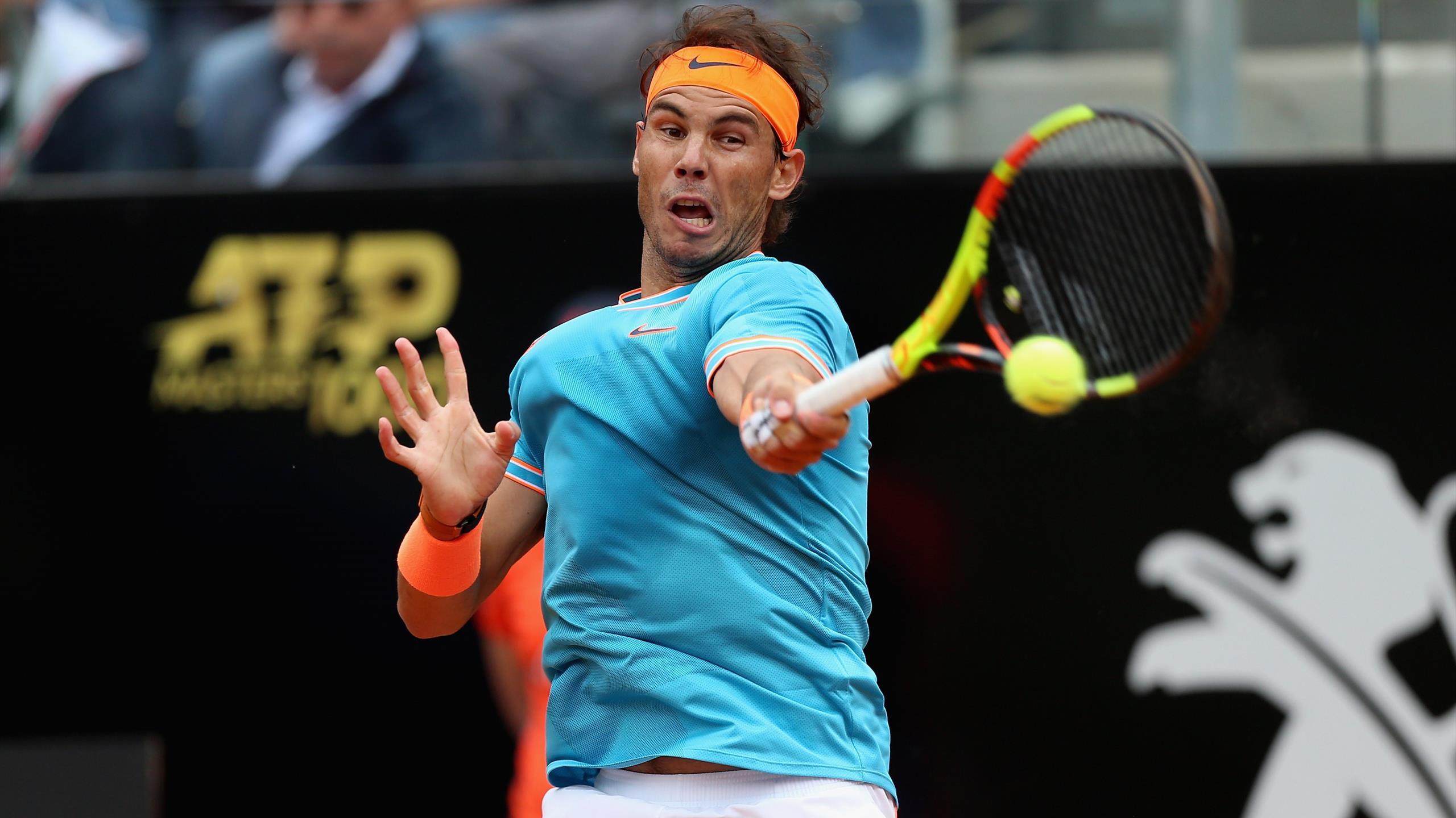 Rafael Nadal ousts Stefanos Tsitsipas in 3 sets to advance ...   Nadal Tsitsipas
