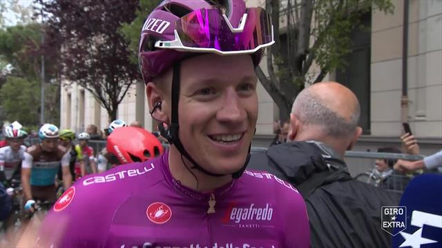 """""""Sehr, sehr glücklich mit meinem Giro"""": Ackermann am Ziel seiner Träume"""