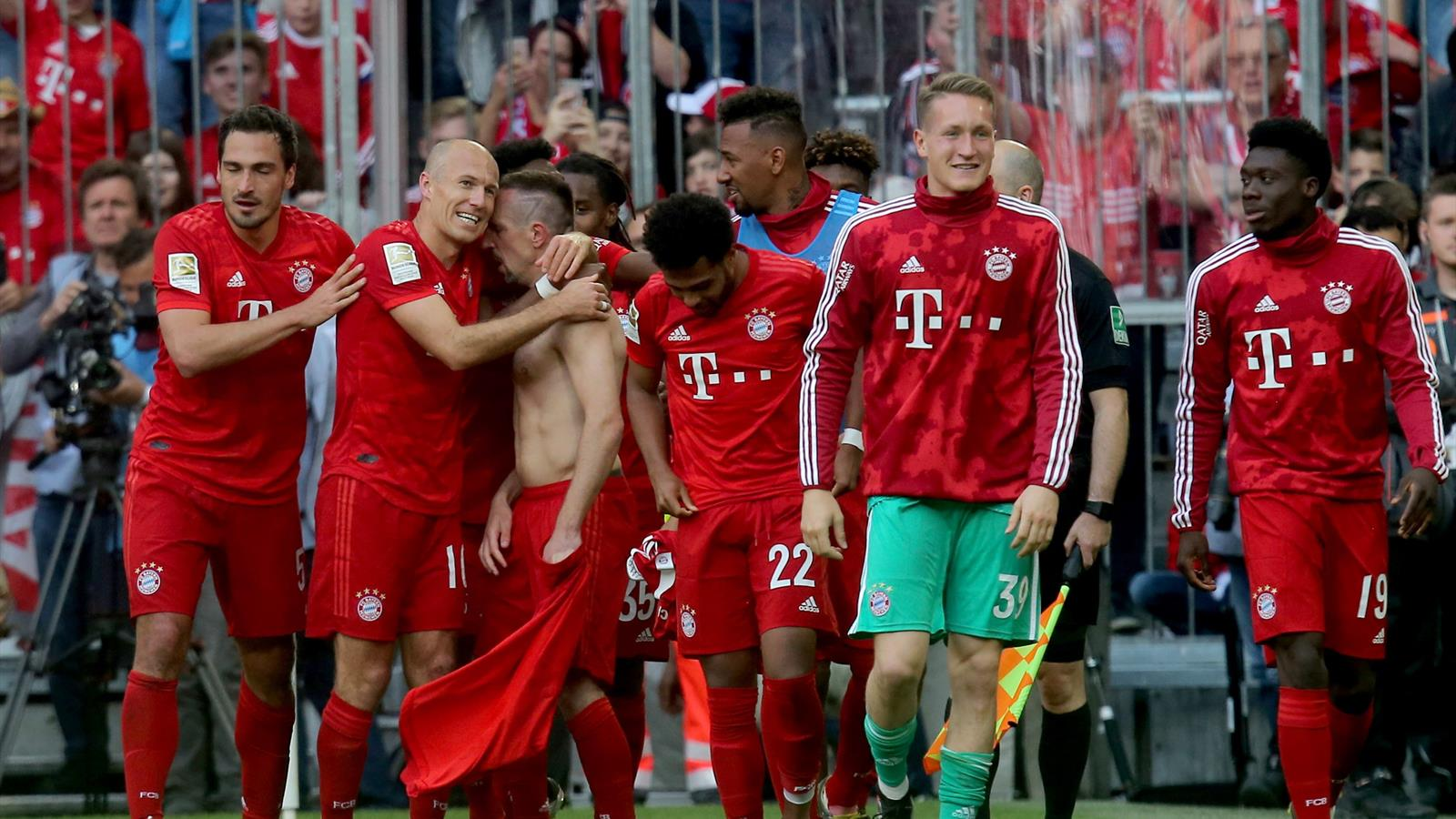 Image result for robben ribery last match