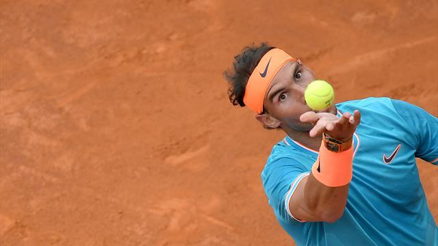 Nadal, version rafale : les temps forts de sa victoire face à Tsitsipas