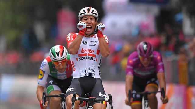 Ewan spurtet inn til seier i Giroens åttende etappe