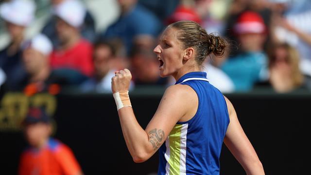 Karolina Pliskova trionfa a Roma: sconfitta Johanna Konta 6-3, 6-4