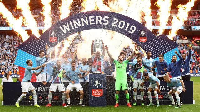 Sterling stars as City seal treble with Watford rout