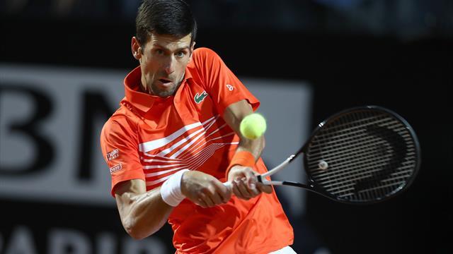 Mit Video   Djokovic müht sich ins Finale - und trifft auf Nadal