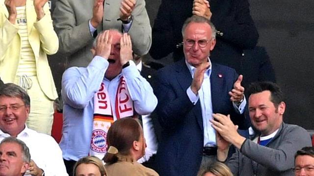 Große Emotionen nach Ribérys Tor: Hoeneß weint hemmungslos