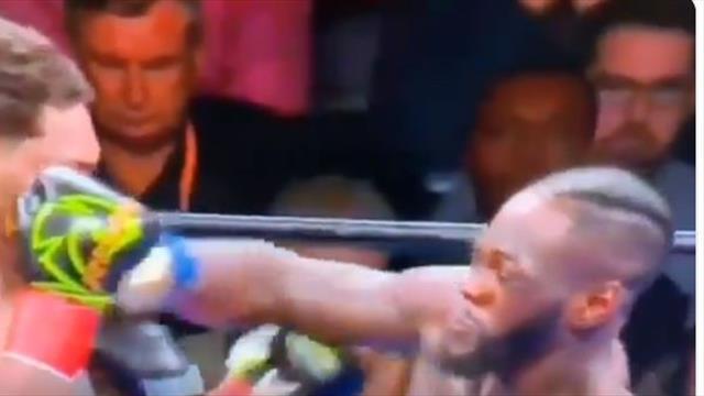 Уайлдер нокаутировал Бризила в первом раунде ударом в челюсть и защитил пояс WBC