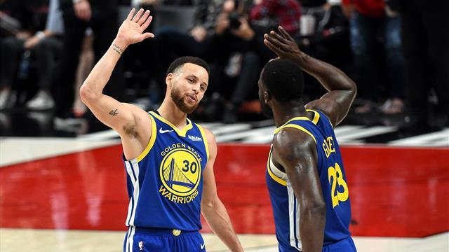 Curry et Green ont fini par écoeurer Portland