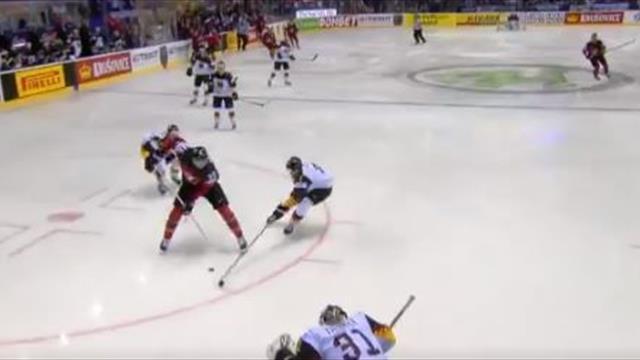 Канадец пробросил себе между ног и забил Германии – возможно, это самая красивая шайба ЧМ