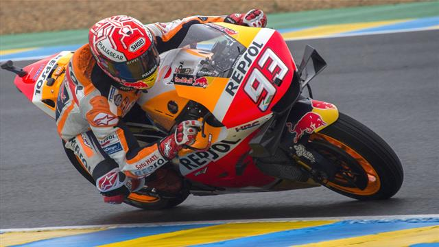 MotoGP : Marquez devance Petrucci et Pirro lors de la 1e séance d'essais libres