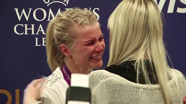 Ada Hegerberg, che serata! Tripletta in finale di Champions, mvp e la sorpresa durante l'intervista