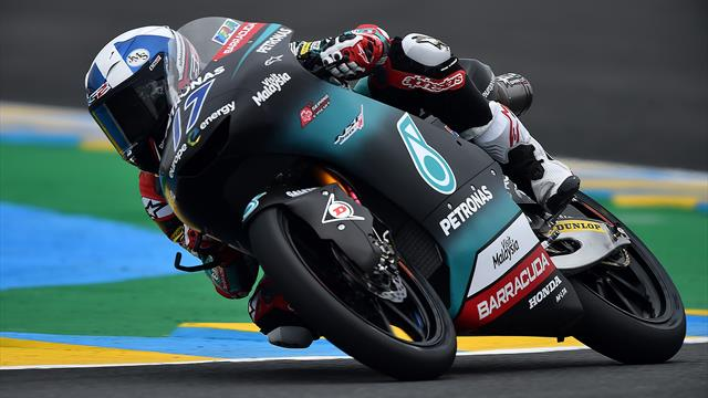 Moto3: trionfa John McPhee davanti a Dalla Porta e Canet. 5° Migno, cade Antonelli