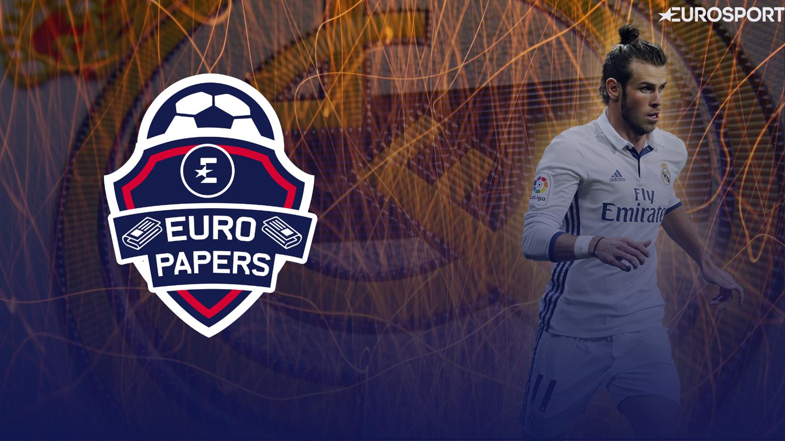 093857998 VIDEO - Euro Papers - Gareth Bale to lead nine-man Real Madrid exodus