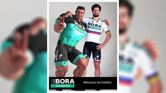 La Bora-Hansgrohe presenta un nuovo corridore: ecco a voi Ion Göttlich!