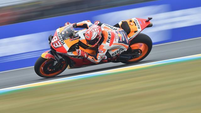Marc Marquez subito davanti a tutti nelle FP1, quarto Dovizioso, nono Valentino Rossi