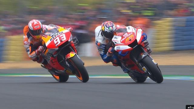 MotoGP   Marquez maakt geen fout vanaf pole en wint in Le Mans