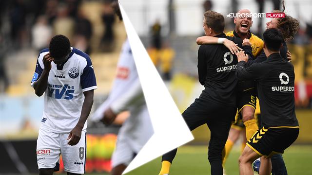 Highlights: Lumbs mål sikrede Horsens overlevelse i Superligaen