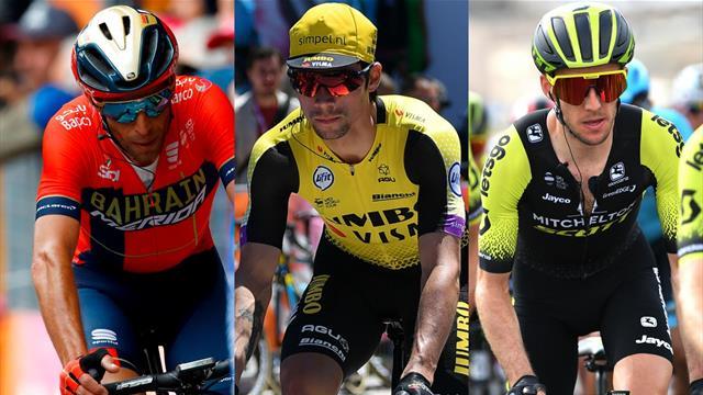 Roglic en pole, Nibali en embuscade, Yates et Lopez décrochés : le point sur les favoris