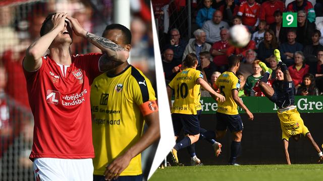 Highlights: Jesper Rask og Hobro kylede Vejle ud af Superligaen