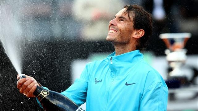 Une bulle avant le champagne : comment Nadal a étouffé Djokovic
