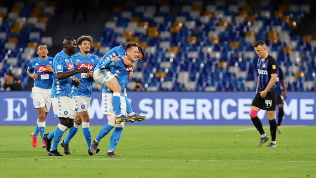 L'Inter étrillée à Naples, les dernières places en C1 se joueront lors de la dernière journée