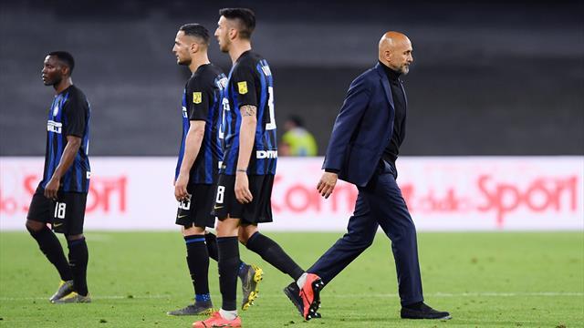 """Spalletti: """"Ci sta di perdere a Napoli. Champions? L'Inter ha il destino nelle proprie mani"""""""