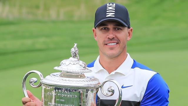 Koepka wins PGA Championship for fourth major title
