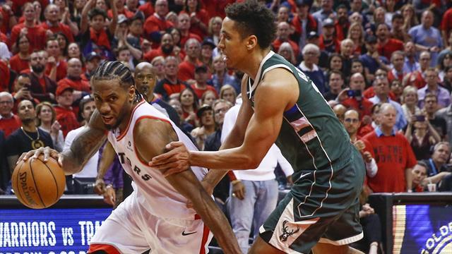 Les Raptors viennent à bout des Bucks pour rester dans la course