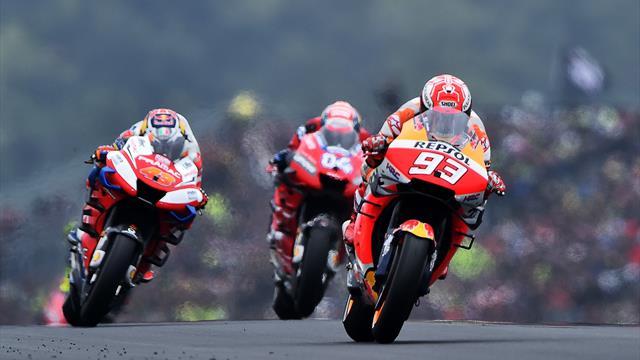 Marquez repousse les Ducati, Quartararo sauve un top 8