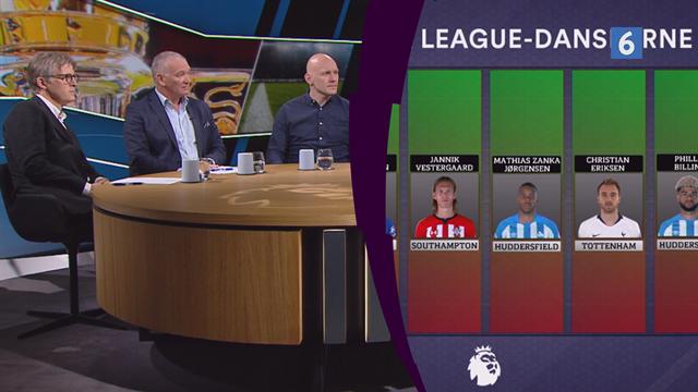 Danskerbarometeret i Premier League, del 1: Højbjerg og Huddersfield-danskerne skal bedømmes