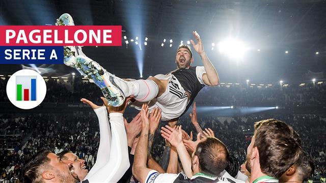 Da 0 a 10, il Pagellone della 37a giornata di Serie A: leggenda Barzagli, Empoli show, panico Inter