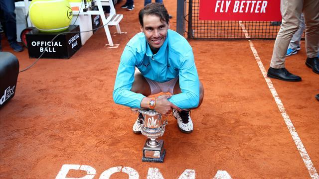 Sieg in Rom: Nadal stellt Becker-Rekord ein