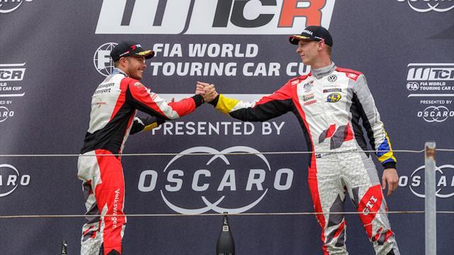 Un double podium aux airs de double victoire pour SLR et ses Volkswagen