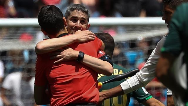 El emotivo último partido liguero de Undiano Mallenco en el Bernabéu