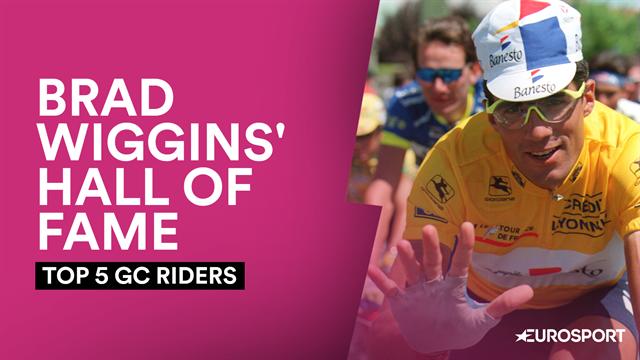 Brad Wiggins' Hall of Fame: Top 5 GC riders