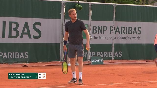 Roland-Garros 2019: Bachinger-Gutiérrez-Ferrol vídeo resumen del partido