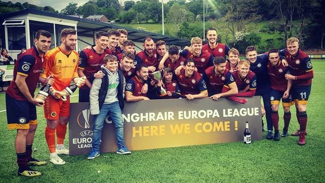 Студенческая команда из Уэльса пробилась в Лигу Европы