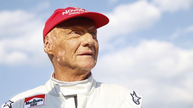 La fête fait place à la tristesse après la mort de Lauda