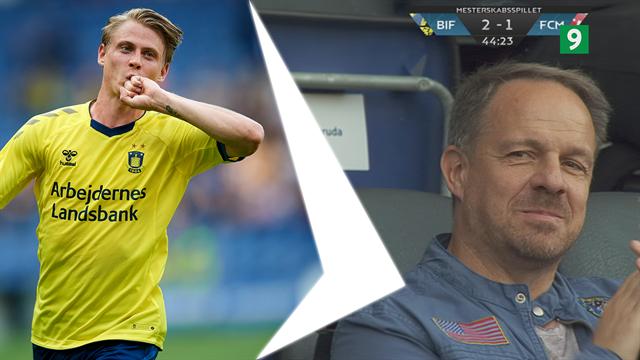 Highlights: Brøndby tæmmede et reservespækket FC Midtjylland-hold i overlegen sejr