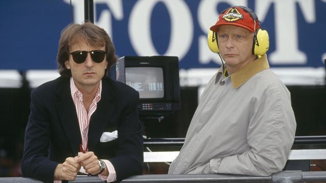 """Montezemolo: """"Lauda era un amico vero, con lui ho vissuto momenti indimenticabili"""""""