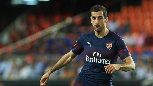 «Арсенал» подтвердил, что Мхитарян пропустит финал ЛЕ